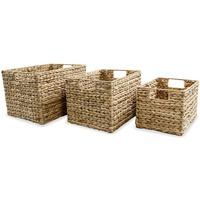 Maison & Déco Paniers, boites et corbeilles Vidaxl Boîte de rangement Brun
