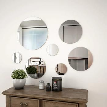 Maison & Déco Miroirs Vidaxl  Argent