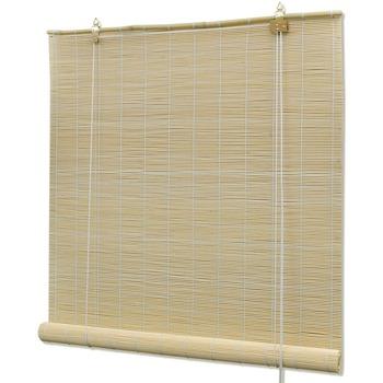 Parures de lit Rideaux, stores Vidaxl 150 x 160 cm Brun