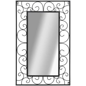 Maison & Déco Miroirs Vidaxl Miroir 50 x 80 cm Noir