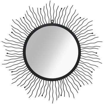 Maison & Déco Miroirs Vidaxl Miroir 80 cm Noir