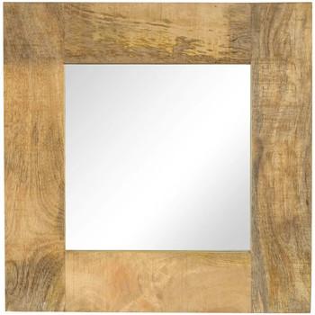 Maison & Déco Miroirs Vidaxl 50 x 50 cm Brun