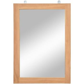 Maison & Déco Miroirs Vidaxl Miroir Brun