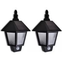 Maison & Déco Luminaires d'extérieur Vidaxl Eclairage exterieur Noir