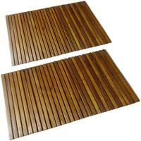 Parures de lit Tapis Vidaxl 80 x 50 cm Brun