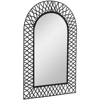 Maison & Déco Miroirs Vidaxl Miroir de jardin 50 x 80 cm Noir