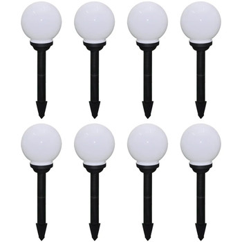 Maison & Déco Luminaires d'extérieur Vidaxl Lampe de jardin 15 cm Blanc