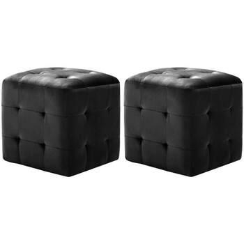 Maison & Déco Poufs Vidaxl  Noir
