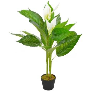 Maison & Déco Plantes artificielles Vidaxl 90 cm Blanc