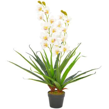 Maison & Déco Plantes artificielles Vidaxl Plante artificielle 90 cm Blanc