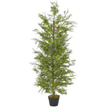 Maison & Déco Plantes artificielles Vidaxl Plante artificielle 150 cm Vert