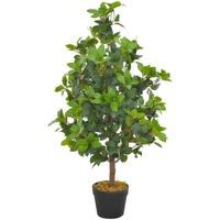 Parures de lit Plantes artificielles Vidaxl 90 cm Vert