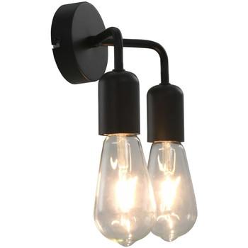 Maison & Déco Appliques Vidaxl Lampe murale Noir