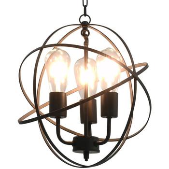 Maison & Déco Lustres, suspensions et plafonniers Vidaxl Lampe suspendue Noir