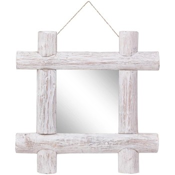 Maison & Déco Miroirs Vidaxl Miroir 50 x 5 x 50 cm Blanc