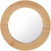 Maison & Déco Miroirs Vidaxl Φ 40 cm Brun