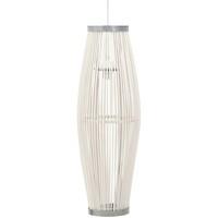 Maison & Déco Lustres, suspensions et plafonniers Vidaxl Lampe suspendue 25 x 62 cm Blanc