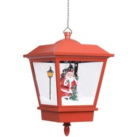 Maison & Déco Lampadaires Vidaxl Lampe suspendue de Noël Rouge