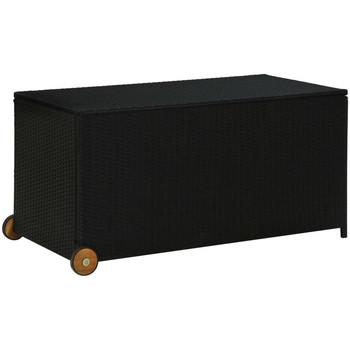Maison & Déco Paniers, boites et corbeilles Vidaxl Boîte de rangement Noir