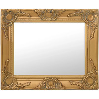 Maison & Déco Miroirs Vidaxl Miroir 50 x 40 cm Or