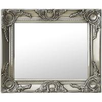 Maison & Déco Miroirs VidaXL Miroir 50 x 40 cm Argent