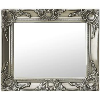 Parures de lit Miroirs Vidaxl 50 x 40 cm Argent