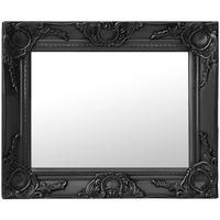 Maison & Déco Miroirs Vidaxl 50 x 40 cm Noir