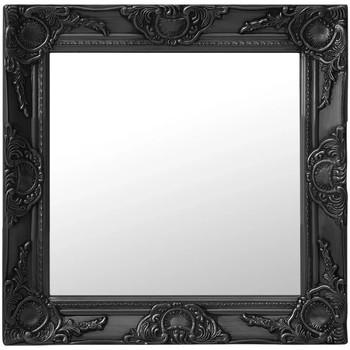 Maison & Déco Miroirs Vidaxl Miroir 50 x 50 cm Noir
