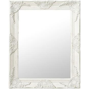 Maison & Déco Miroirs Vidaxl 50 x 60 cm Blanc