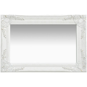 Maison & Déco Miroirs Vidaxl 60 x 40 cm Blanc