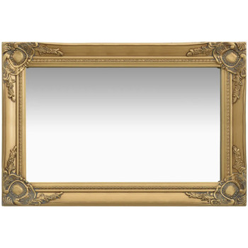 Maison & Déco Miroirs Vidaxl Miroir 60 x 40 cm Or