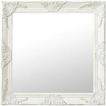 Maison & Déco Miroirs Vidaxl 60 x 60 cm Blanc