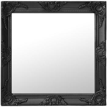 Maison & Déco Miroirs Vidaxl 60 x 60 cm Noir