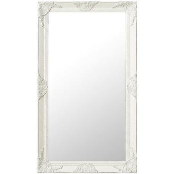 Maison & Déco Miroirs Vidaxl Miroir 60 x 100 cm Blanc