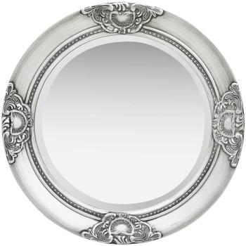 Maison & Déco Miroirs Vidaxl Miroir Φ 50 cm Argent