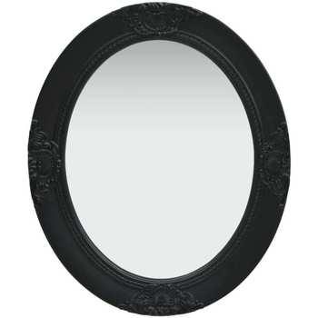 Maison & Déco Miroirs Vidaxl 50 x 60 cm Noir