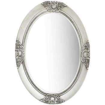 Maison & Déco Miroirs Vidaxl 50 x 70 cm Argent