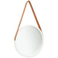 Maison & Déco Miroirs Vidaxl Miroir Φ 40 cm Blanc