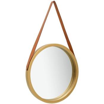 Maison & Déco Miroirs Vidaxl Miroir Φ 40 cm Or