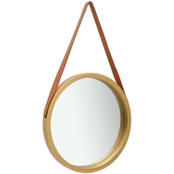 Maison & Déco Miroirs Vidaxl Miroir Φ 50 cm Or