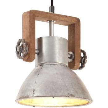 Maison & Déco Lustres, suspensions et plafonniers Vidaxl Lampe suspendue Φ 19 cm Argent