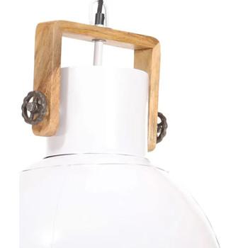 Maison & Déco Lustres, suspensions et plafonniers Vidaxl Lampe suspendue Φ 40 cm Blanc