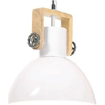 Maison & Déco Lustres, suspensions et plafonniers Vidaxl Lampe suspendue Φ 30 cm Blanc
