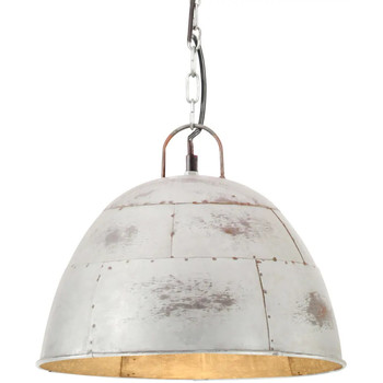 Maison & Déco Lustres, suspensions et plafonniers Vidaxl Lampe suspendue Φ 31 cm Argent