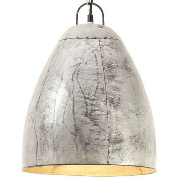 Maison & Déco Lustres, suspensions et plafonniers Vidaxl Lampe suspendue Φ 32 cm Argent