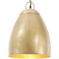 Maison & Déco Lustres, suspensions et plafonniers Vidaxl Lampe suspendue Φ 32 cm Or