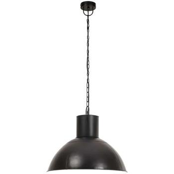 Maison & Déco Lustres, suspensions et plafonniers Vidaxl Lampe suspendue Φ 48 cm Noir