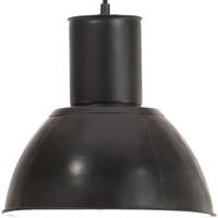 Maison & Déco Lustres, suspensions et plafonniers Vidaxl Lampe suspendue Φ 28.5 cm Noir