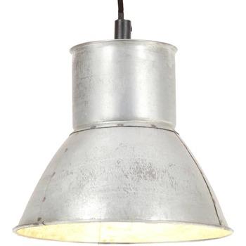 Maison & Déco Lustres, suspensions et plafonniers Vidaxl Lampe suspendue Φ 17 cm Argent