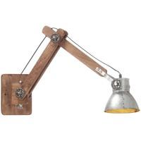 Maison & Déco Appliques Vidaxl Lampe murale Argent